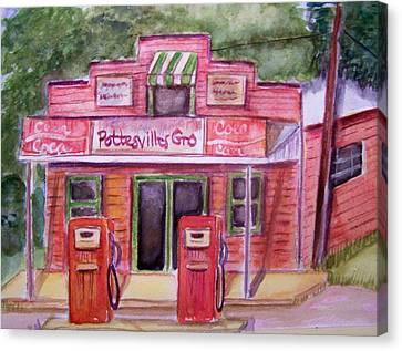 Pottesville Gro. Canvas Print by Belinda Lawson