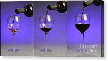 Pouring Wine Canvas Print - Pouring Wine by Photo Researchers, Inc.
