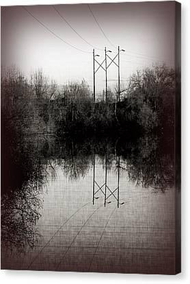Power Canvas Print by Bonnie Bruno