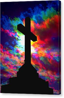Power Of The Cross Canvas Print