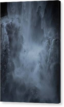 Power Of Water Canvas Print by Jonah  Anderson