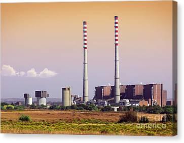 Power Plant Canvas Print by Carlos Caetano