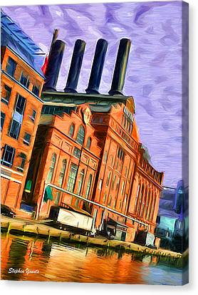 Power Plant Canvas Print by Stephen Younts