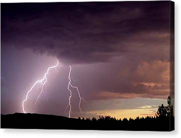 Power Unleashed Canvas Print by Peter Mooyman