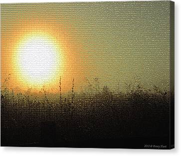 Canvas Print featuring the photograph Prairieland Preservation by Penny Hunt