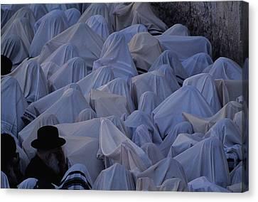 Prayer Shawls Cloak Cohanim Blessing Canvas Print