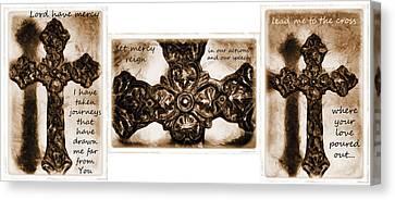 Prayer Triptych 2 Canvas Print