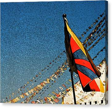 Prayers For Tibet Canvas Print