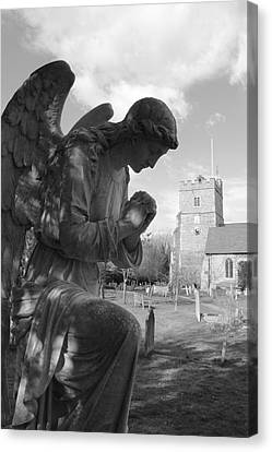 Praying Angel Canvas Print by Adrian Wilkins