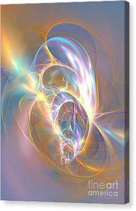 Precious Life - Abstract Art Canvas Print by Abstract art prints by Sipo