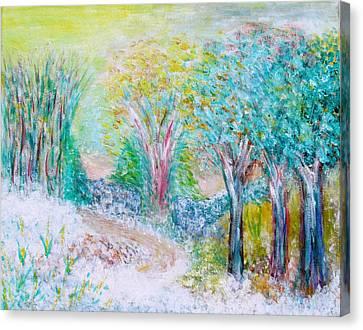 Prelude Canvas Print by Edie Schmoll