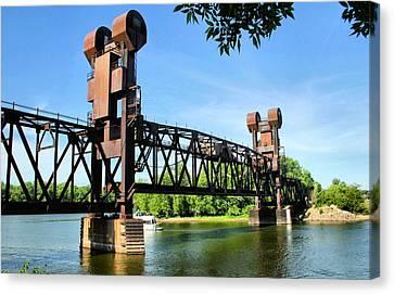 Prescott Lift Bridge Canvas Print by Kristin Elmquist