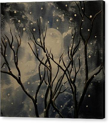 Prescott Snow Storm Canvas Print
