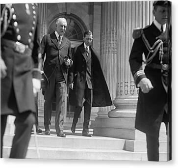 President Warren G. Harding Left Canvas Print by Everett