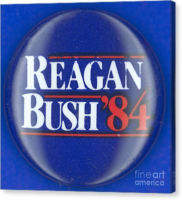 Presidential Campaign: 1984 Canvas Print by Granger