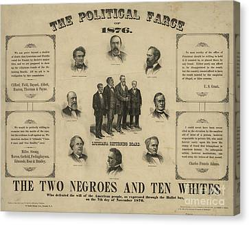 Presidential Election, 1876 Canvas Print by Granger