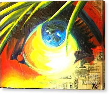 Press Release Canvas Print by Jeffrey Kyker