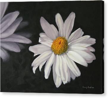 Pretty Daisy Canvas Print by Candy Prather