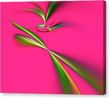 Pretty In Pink Canvas Print by Carolyn Marshall