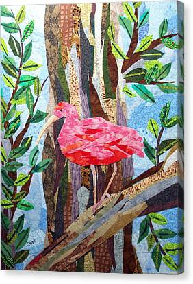 Pretty In Pink Canvas Print by Charlene White