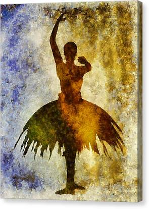 Ballet Canvas Print - Prima 1 by Angelina Vick