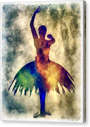 Ballerine Canvas Print - Prima 1 Muse by Angelina Vick