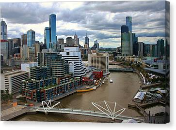 Primary Colors Of Melbourne Canvas Print
