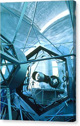 Keck Telescope Canvas Print - Primary Mirror Of The Keck II Telescope, Hawaii by David Nunuk