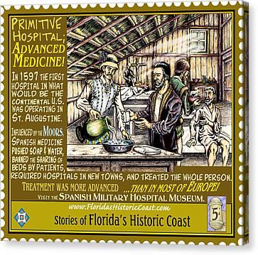 Canvas Print - Primitive Hospital Advanced Medicine by Warren Clark