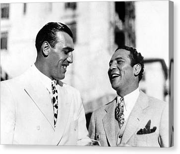 Primo Carnera & Max Baer Sr.being Canvas Print by Everett
