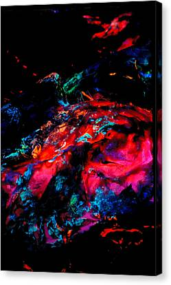 Primordial Event Canvas Print by Colleen Cannon