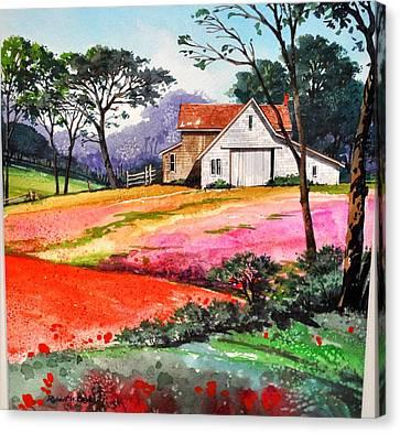 Primrose Farm Canvas Print