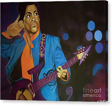 Prince Canvas Print by Chelle Brantley