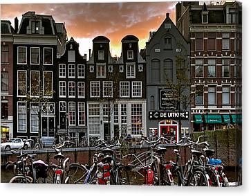 Prinsengracht 458. Amsterdam Canvas Print by Juan Carlos Ferro Duque
