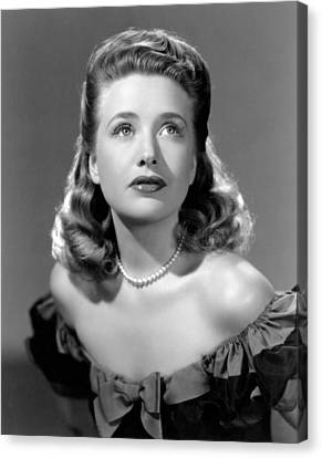 Priscilla Lane, Ca. 1942 Canvas Print by Everett
