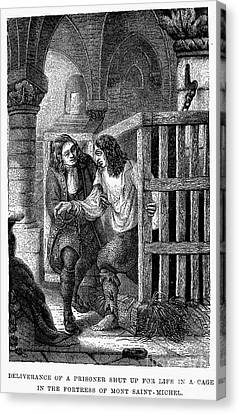 Prison: Cage, 17th Century Canvas Print by Granger