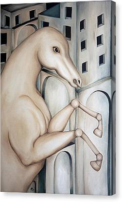 Prisoner 2010  Canvas Print by Simona  Mereu