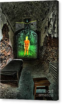 Prisoner Of The Soul Canvas Print by Andrew Paranavitana