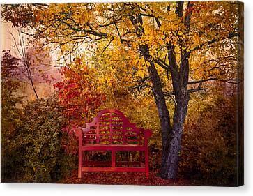 Promises Made Canvas Print by Debra and Dave Vanderlaan