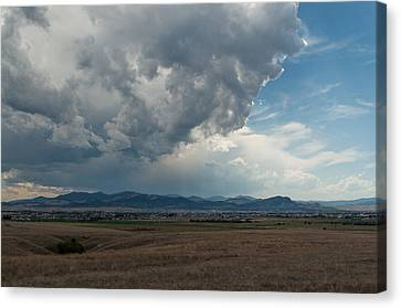 Canvas Print featuring the photograph Promises Of Rain by Fran Riley