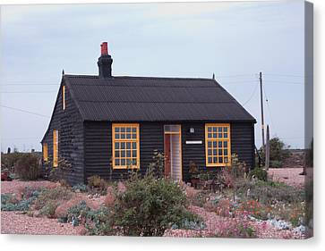 Derek Jarman Canvas Print - Prospect Cottage Derek Jarmen by Dawn OConnor