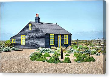 Prospect Cottage Dungeness Canvas Print by Chris Thaxter