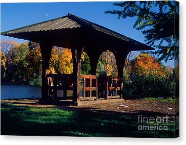 Prospect Park Canvas Print by Mark Gilman