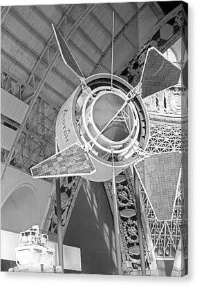 Proton 1 Exhibition Display, 1967 Canvas Print by Ria Novosti