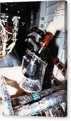 Prototype Airwater Filter On Test Canvas Print by NASA / Science Source