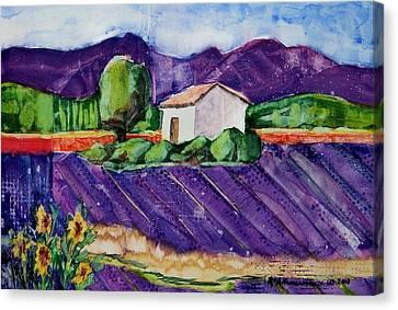 Provence Canvas Print by Regina Ammerman