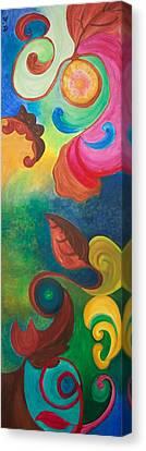 Canvas Print - Psychadelic Dream by Derya  Aktas