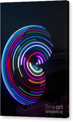 Psychedelic Hula Hoop Canvas Print by Ilan Rosen