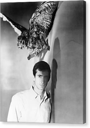 Psycho, Anthony Perkins, 1960 Canvas Print by Everett