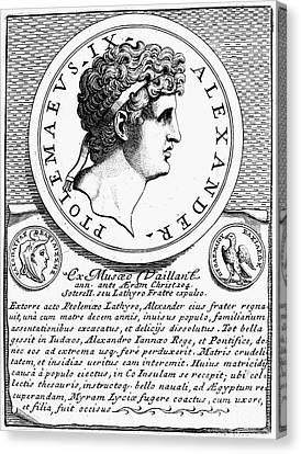 Ptolemy X (d.88 B.c.) Canvas Print